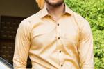 Light Golden Shirt Perfect For Corporate Meetings