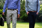 Dark Blue and Grey Formals for Great First Impression
